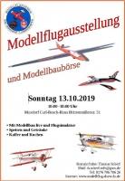 Modellflugausstellung mit Modellflohmarkt